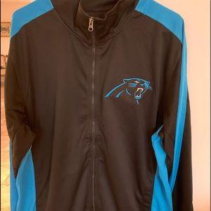 Carolina Panthers Large NFL track jacket NWT